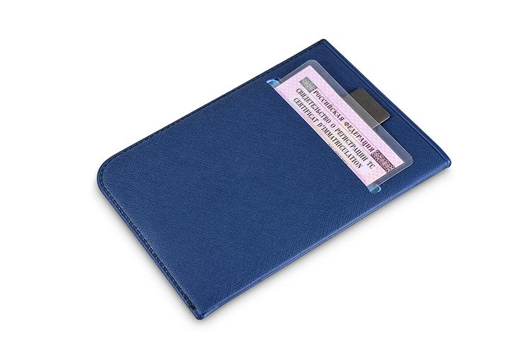 Обложка для паспорта - задний карман