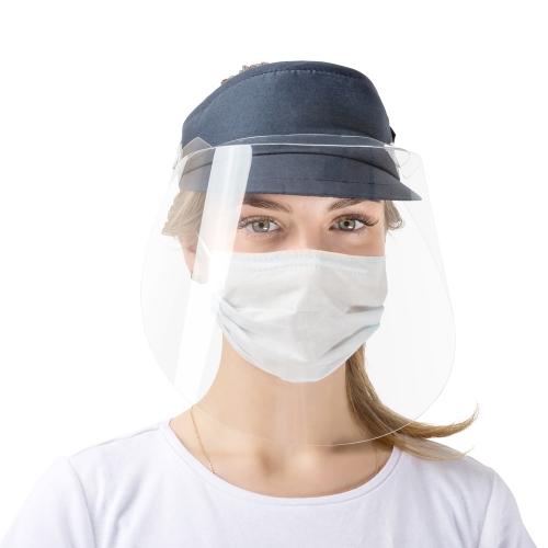 Защитный экран для лица с козырьком
