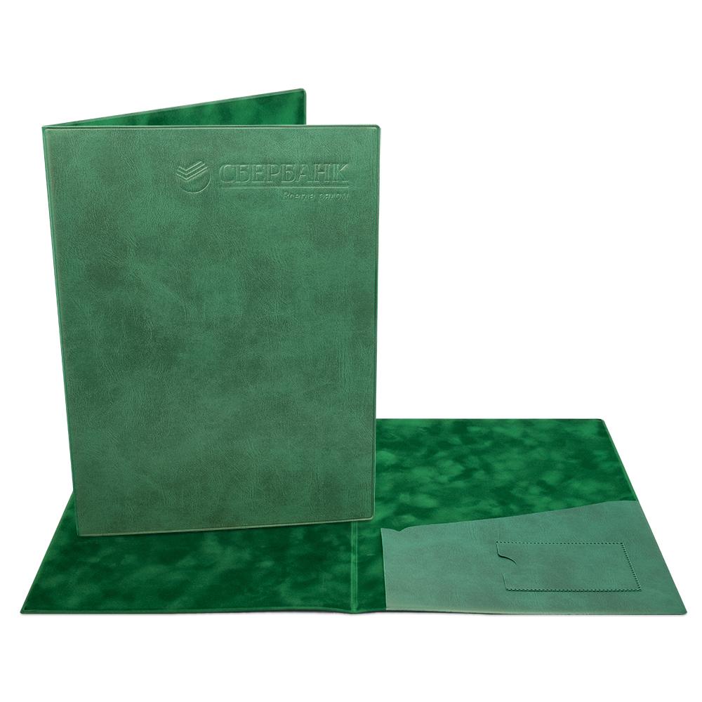Классическая папка из экокожи