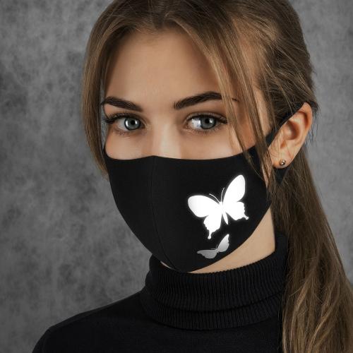 Многоразовая маска с ионами серебра -