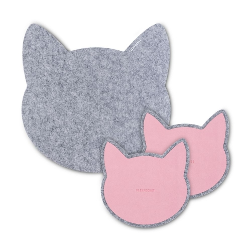 Набор ковриков для мыши из фетра