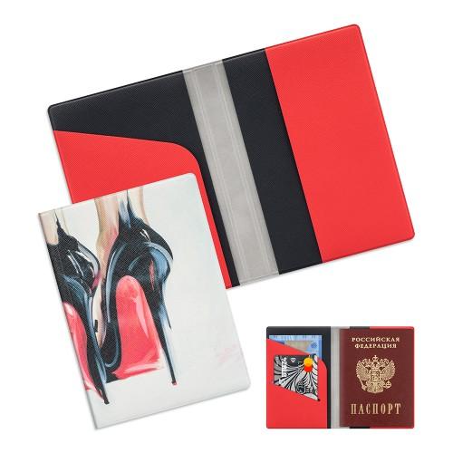 Обложка для паспорта из экокожи