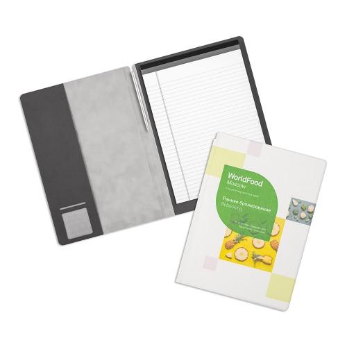 Блокнот-планшет с обложкой из экокожи