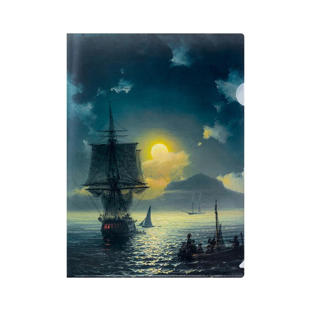 Папка с печатью картины Айвазовского И.К.