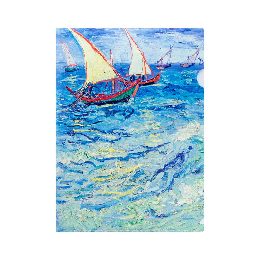 Папка с печатью картины Ван Гога